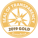 2019 Gold Seal of Transparency Guidestar