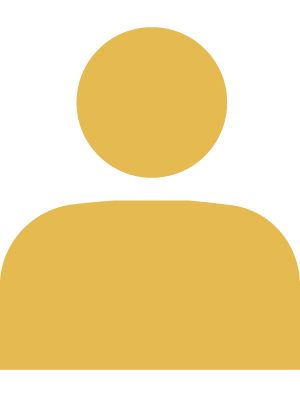 Default gold silhouette avatar